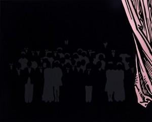 Ari Goldmann, Nachbild, wenn der Vorhang fällt, 2009