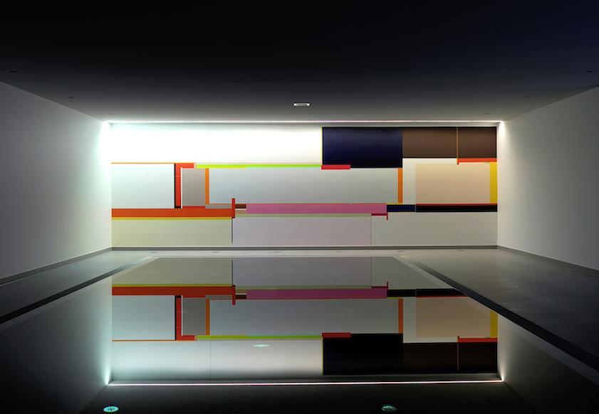 Richard Schur, Wandmalerei 2013 - Privatsammlung Deutschland
