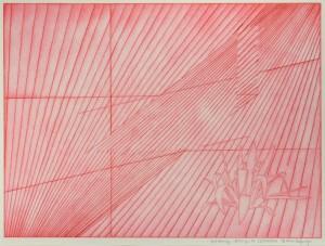 Simon Halfmeyer, wall drawing, Eislingen, 2016/2016, Radierung