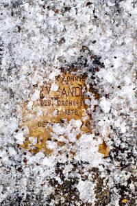 Amos Schliack, Stolpersteine. Grindelallee 134, 2012