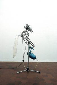 Kathrin Haassengier, Astrone, Ausstellungsansicht galerie postel, 2017