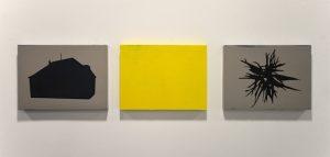 Simon Halfmeyer, Triptychon gelb, 2015